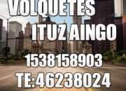 Alquiler de volquetes ituzaingo servicio las 24 hs tel 46238024 1538158903