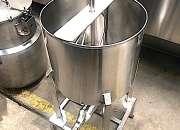 Nro. de stock: 5449   tanque acero inoxidable 30 litros