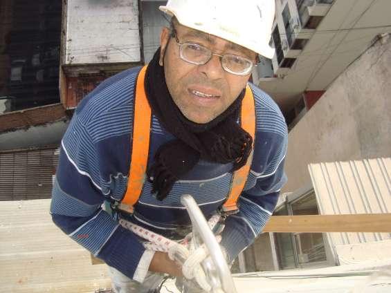 Trabajos en alturas con silletas en san cristoval
