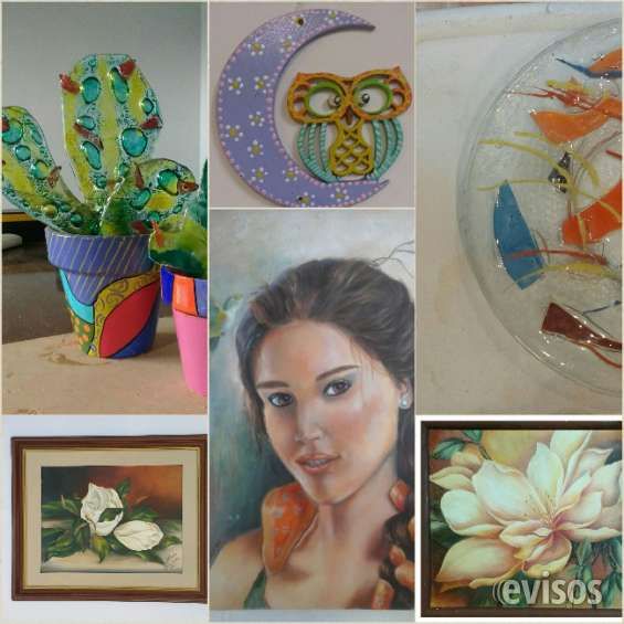 Cursos de pintura, patinas, decoupage, vitrofusion, arte frances