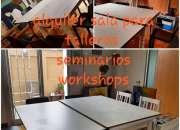 Alquiler por hora para talleres,seminarios,clases en Palermo Soho
