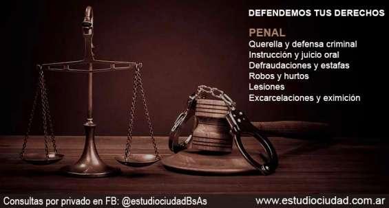 Estudio jurídico penalista