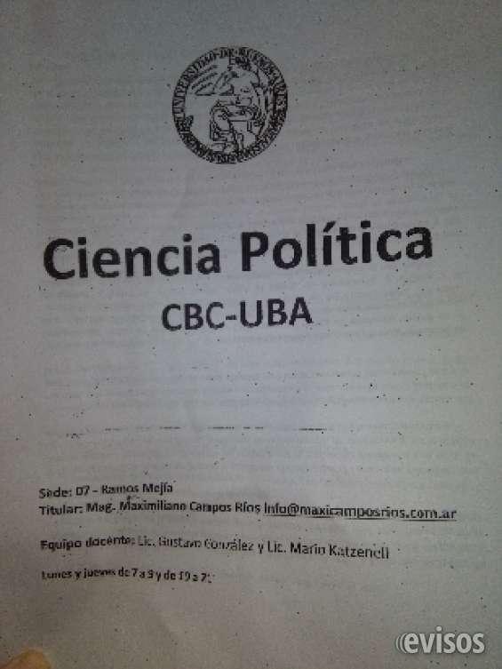 Ciencia política. cátedra maximiliano campos ríos cbc