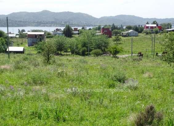 Vista al lago los molinos, 1.000 m2, escritura, serv., potrero garay, cordoba