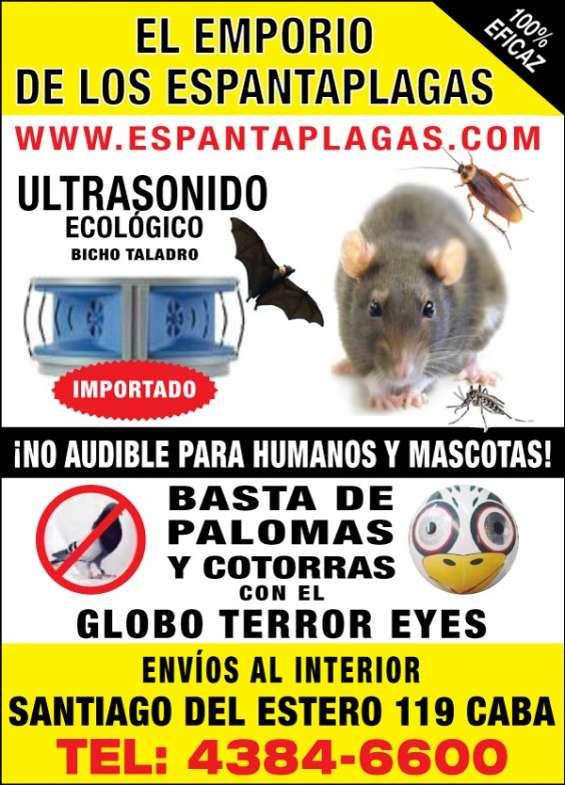 Espanta ratas ultrasonico ecologico
