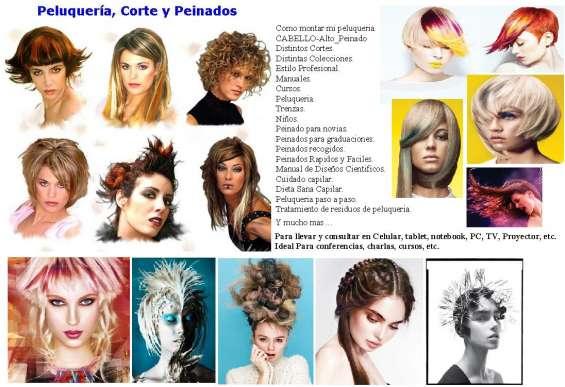 Peluqueria cabello cursos