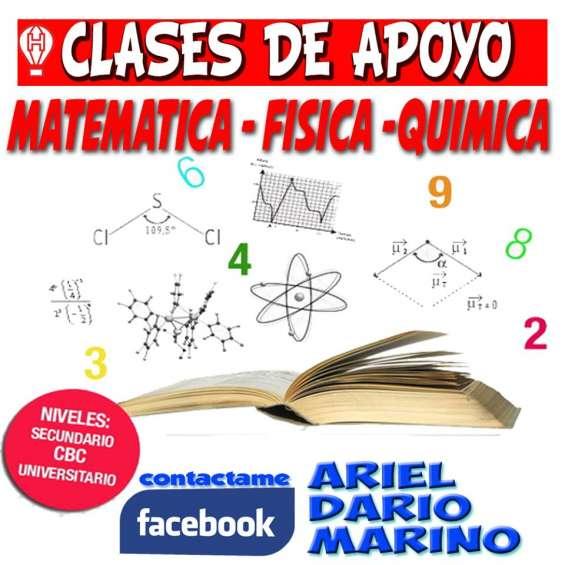 Clases matematica-fisca-quimica