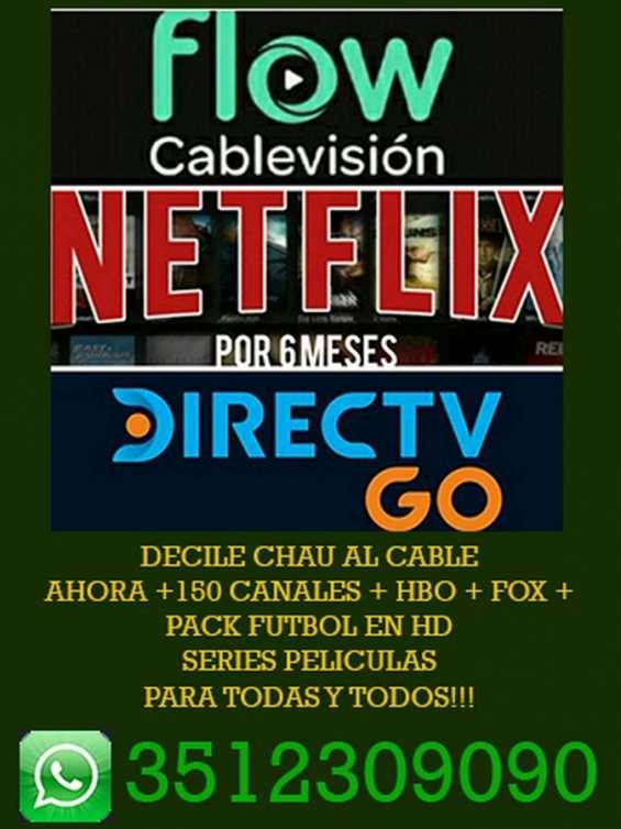 Bienvenidos a una nueva forma de ver tv - decile chau al cable!!
