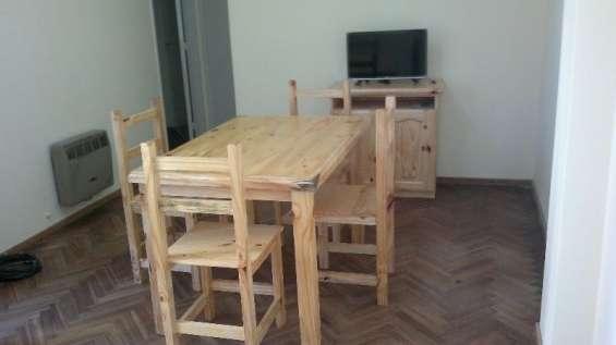 Dueño alquila departamento amueblado 1 dormitorio montevideo y maipu a estudiante