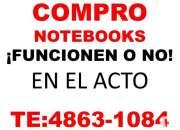 Compro notebooks rotas o no te:4863-1084