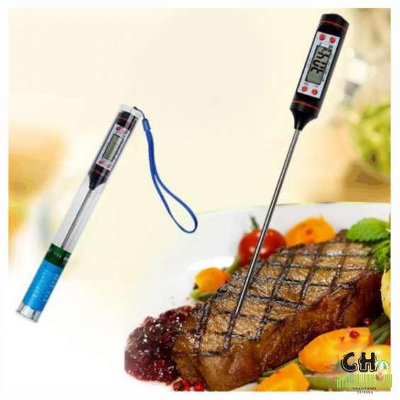 Termometro digital cocina carnes bebidas