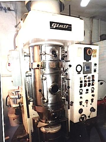 secador a lecho fluidizado -glatt-