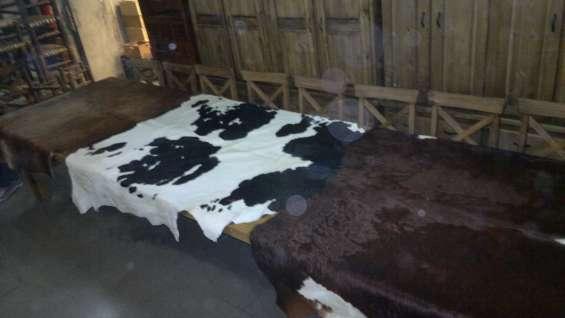 Cueros de vaca originales grandes
