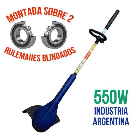 Bordeadora electrica 550 w montada sonbre 2 rulemanes
