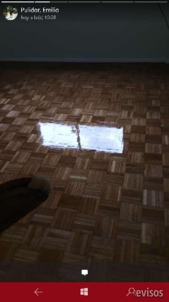 Pulido y plastificado pisos de maderas, arreglos