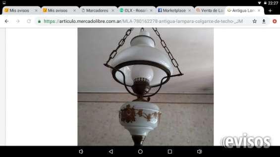 Líquido lámparas colgantes antiguas