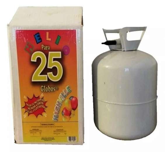 Gas helio para globos garrafa descartable para 25 globos en cordoba
