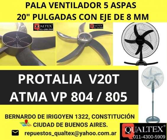 Repuestos para ventiladores: consulten por accesorio