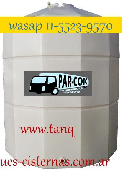 Tanque vertical de polietileno de 10.000 litros