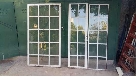 Vendo puertas-ventanas de hierro