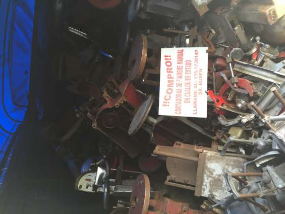 Fotos de Compro cortadoras manuales antiguas berkel y otras 6