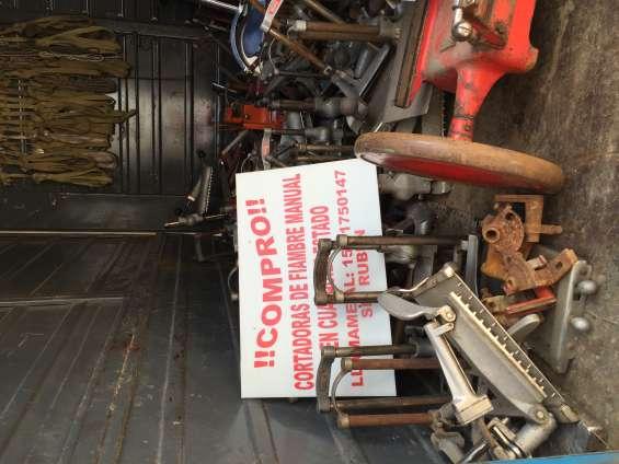 Fotos de Compro cortadoras manuales antiguas berkel y otras 5