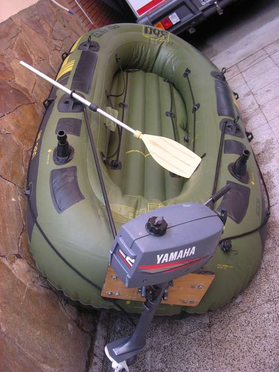 Bote inflable sevylor 360hp 5 personas