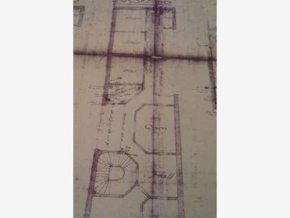 Plano original piso