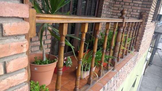 Balcon grande vista frente