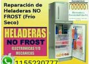 Servicio técnico de heladera No Frost.