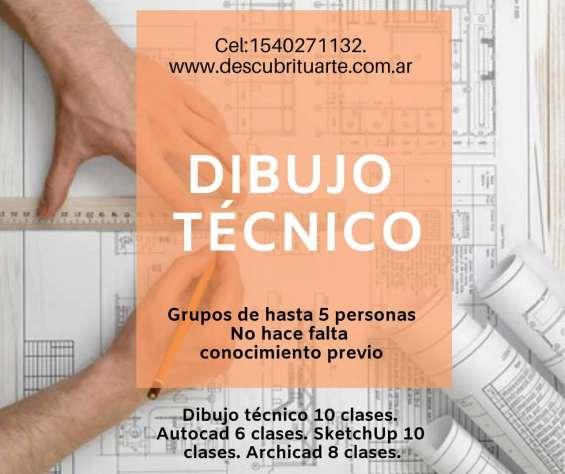 Clases de dibujo tecnico cbc proyectual arquitectura y diseño todas las carreras