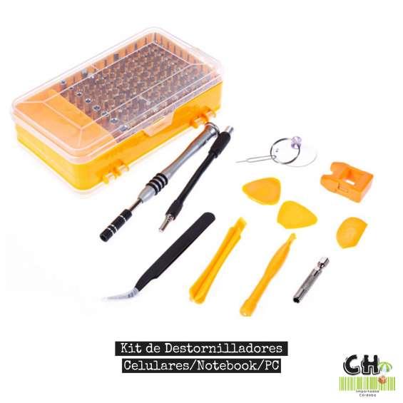 Kit destornilladores - herramientas de precisión 115 piezas