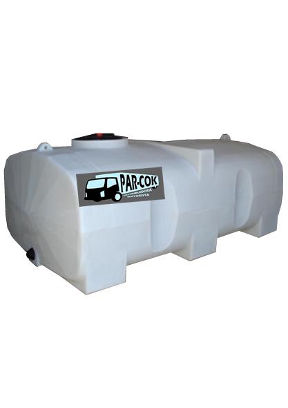 Tanque de polietileno industrial horizontal de 8000 litros