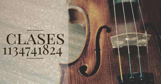 Clases de violín caba