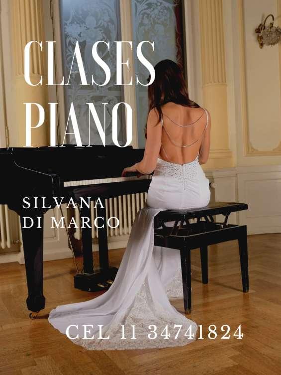 Clases de piano villa luro