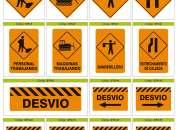 Señalización de rutas nacionales y provinciales en Hipólito Yrigoyen