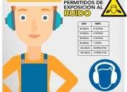 Carteles de seguridad industrial en Glew