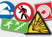 Carteles preventivos para Áreas de trabajo en Glew