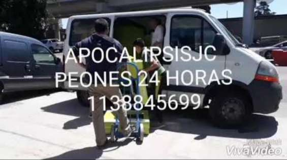 Transportes mudanzas fletes 24 hs 1138845699